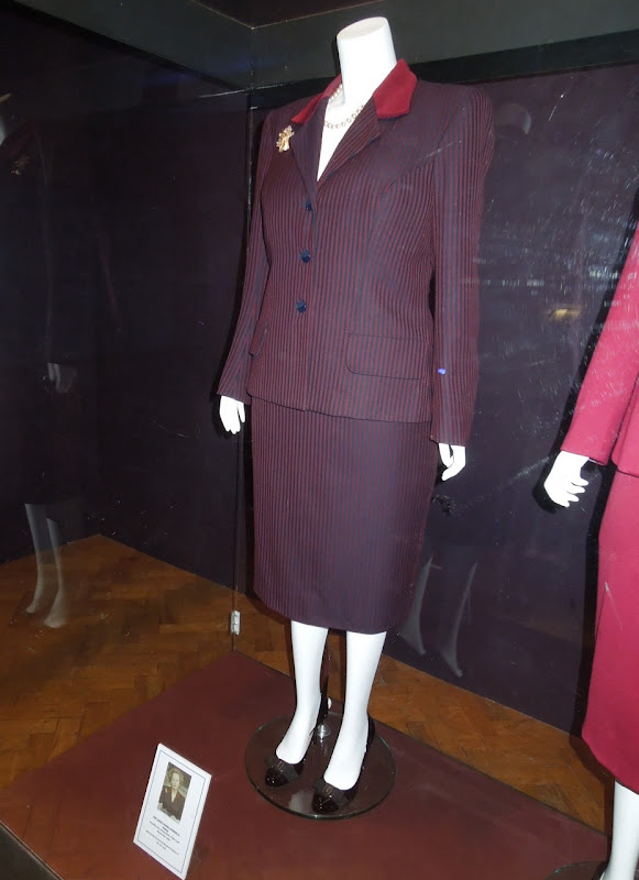 Meryl Streep 1989 Cabinet Room outfit Iron Lady