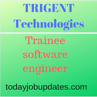 TRIGENT Hiring Immediate Requirement for Trainee-Software Engineer