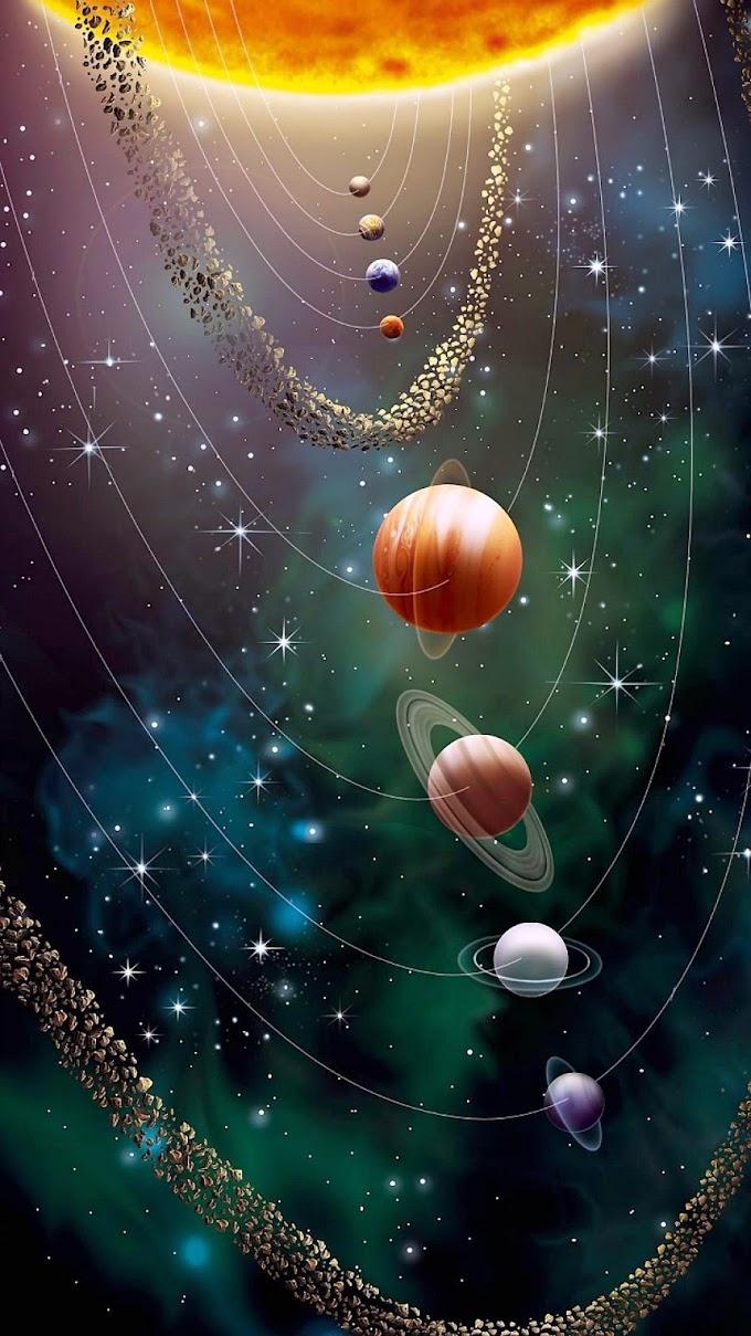 Papel de Parede Celular Sistema Solar