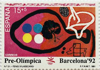 PRE-OLÍMPICA BARCELONA 92. TENIS