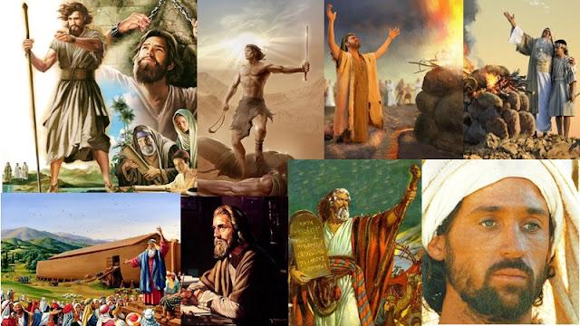 mais importantes homens da biblia