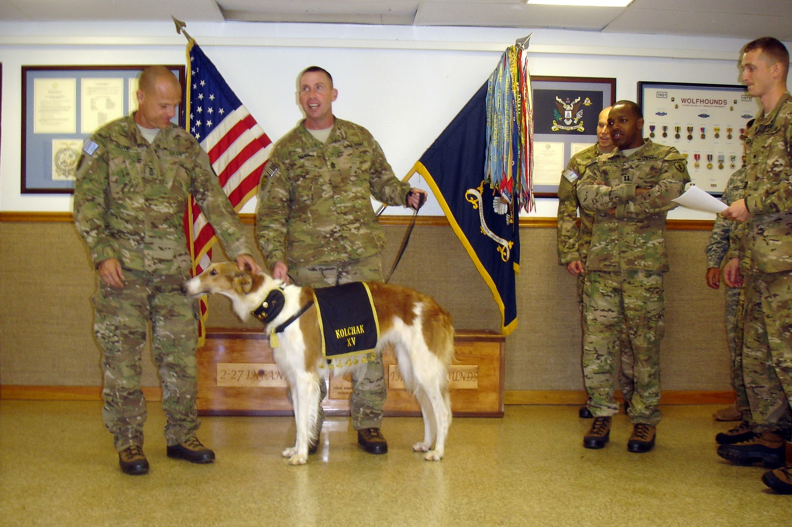Kolchak Xv 27th Infantry Regiment Quot Wolfhounds Quot April 2011