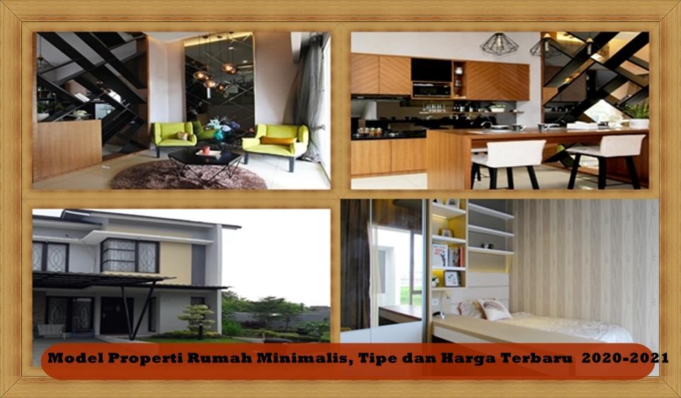 Model Properti Rumah Minimalis, Tipe dan Harga Terbaru