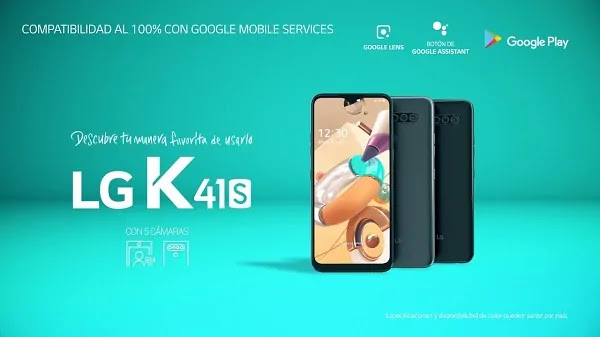 LG K41S EN PERÚ