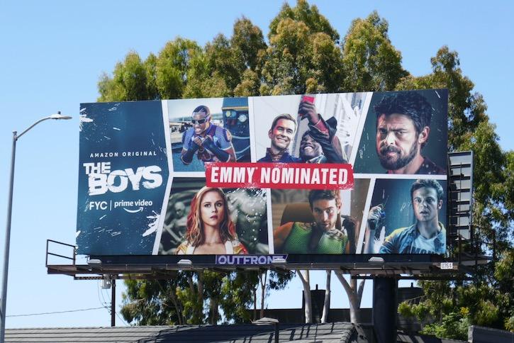 The Boys Emmy nominee billboard