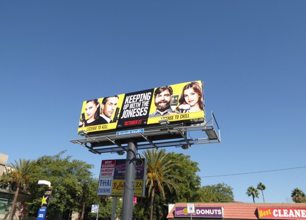 Keeping Up With The Joneses billboard