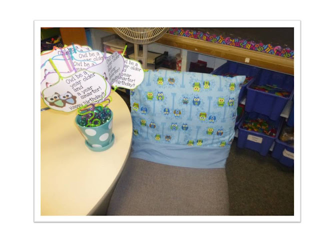 Guest blog post from Elementary AMC who shares some Fun Classroom Birthday Ideas!