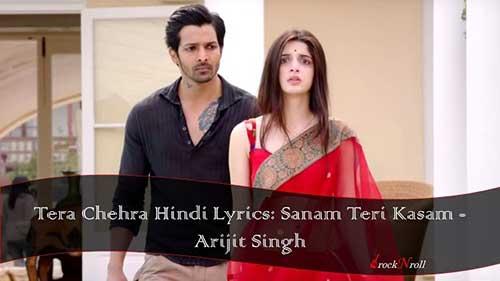 Tera-Chehra-Hindi-Lyrics-Sanam-Teri-Kasam