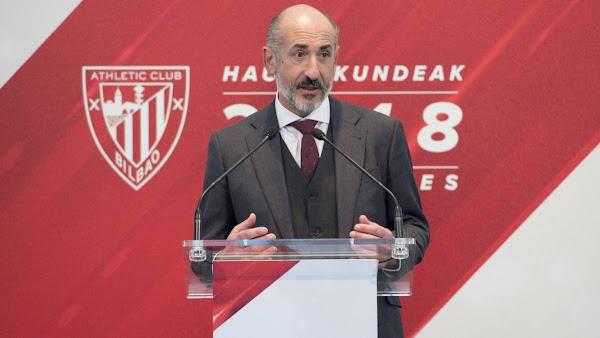 """Aitor Elizegi - Athletic - a los socios: """"Siempre nos crecemos ante las adversidades"""""""