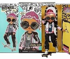 Кукла мальчик L.O.L. O.M.G. Guys 2021: стиляга скейтбордист Лев с 20 сюрпризами