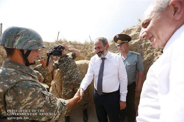 """Pashinayn promete """"rechazo terminante"""" a las provocaciones de Azerbaiyán"""