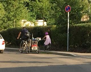 Wer haftet, wenn .mein Kind mit dem Fahrrad …