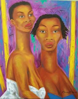 Mulatas - Pintura de Cicera Dias