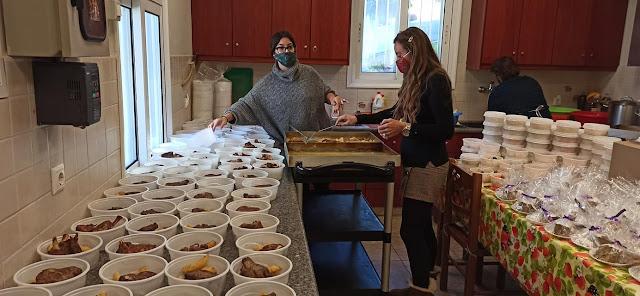 Παπά-Λευτέρης: Και ανήμερα της Πρωτοχρονιάς το Συσσίτιο της Ευαγγελίστριας Ναυπλίου πρόσφερε φαγητό
