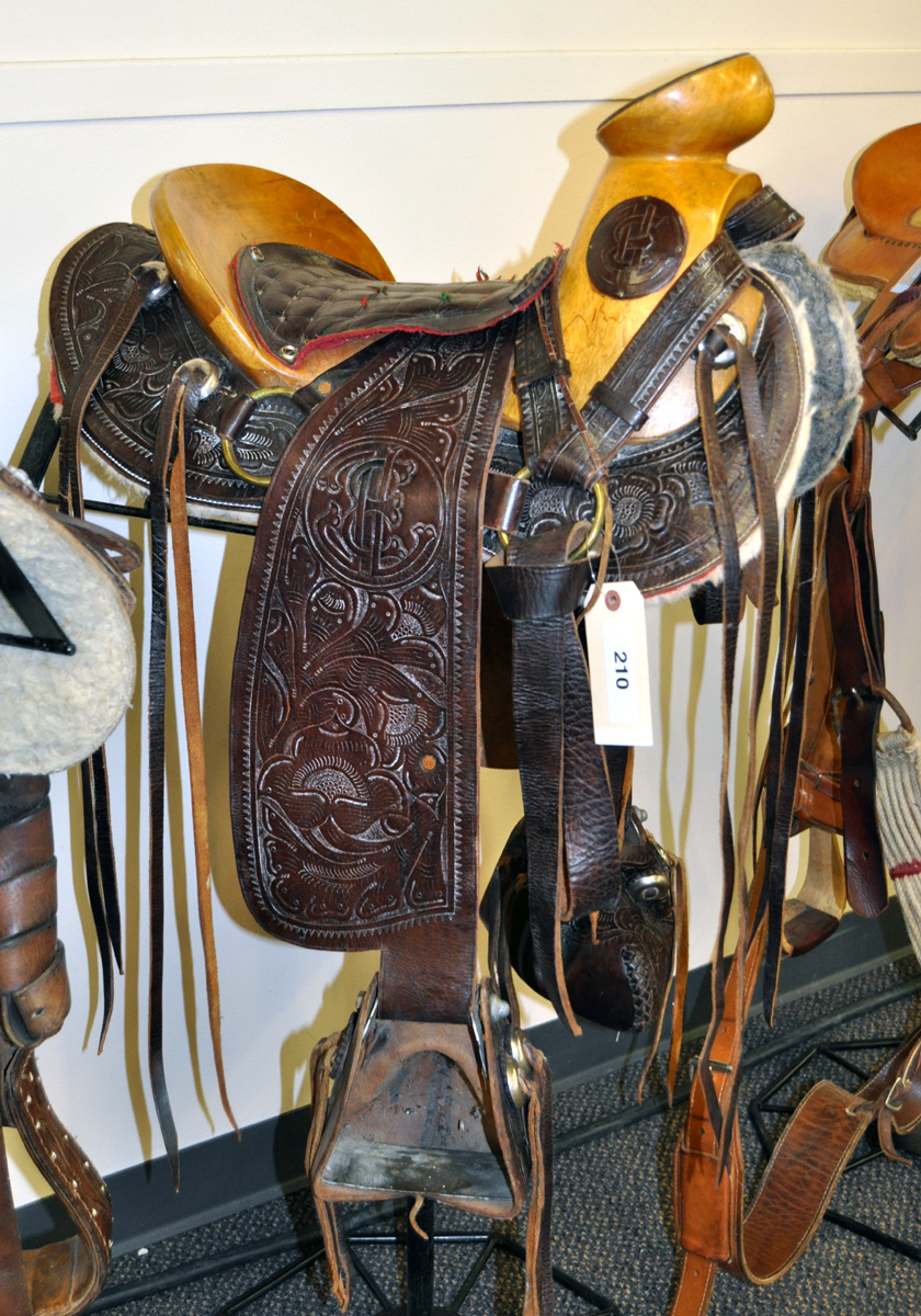 Braymere Custom Saddlery: Four Mexican saddles