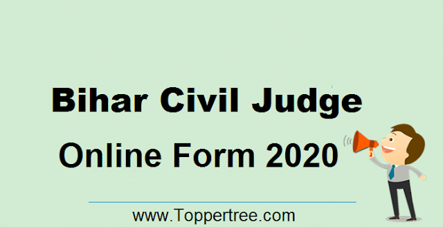 BPSC Civil Judge Online Form 2020
