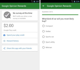 Google Opinion Rewards para Android