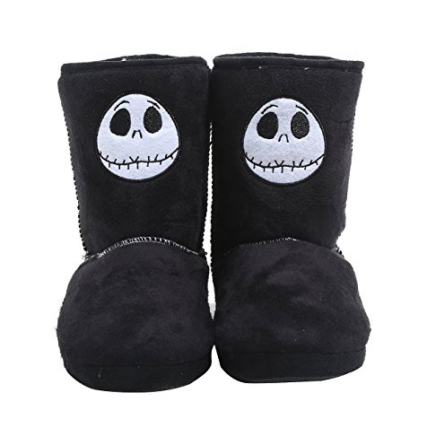 if you like slipper boots how about this pair of jack skellington ones