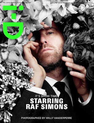 Raf Simons Covers i-D, Talks His Final Collection for Jil Sander