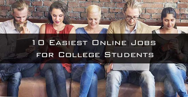 10 Easiest Online Jobs for College Students: eAskme