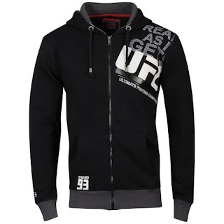 UFC Men's Off Set Hoody - Black
