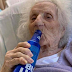 103-year-old woman celebrates life with a bottle of cold beer after beating COVID-19