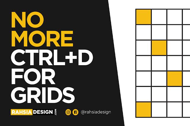 Create Grids in Illustrator Tutorial