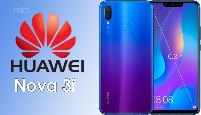 Harga Huawei Nova 3I Terbaru 2018 – Kamera 4 Lensa, Ram 4Gb/128 Gb
