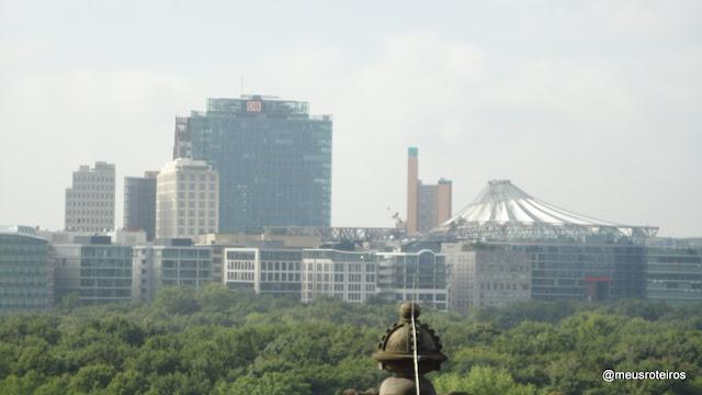 Vista do terraço do Reichstag - Berlim