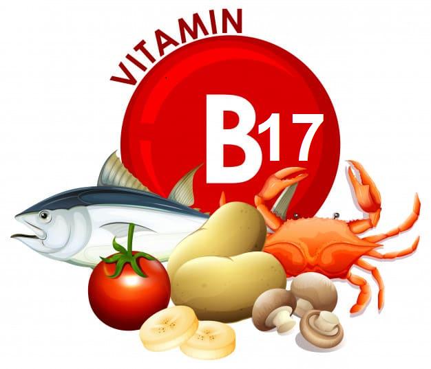 Where is vitamin B17?
