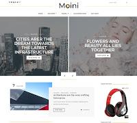 Theme Blossomtheme Premium Download Moini Blogger Blogspot Template Gratis Seo Friendly