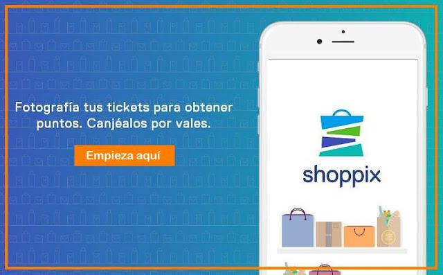 Con Shoppix App, tus tickets te dan dinero