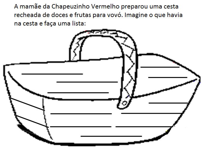 PARAÍSO DO EDUCANDO: Chapeuzinho Vermelho Parte XII