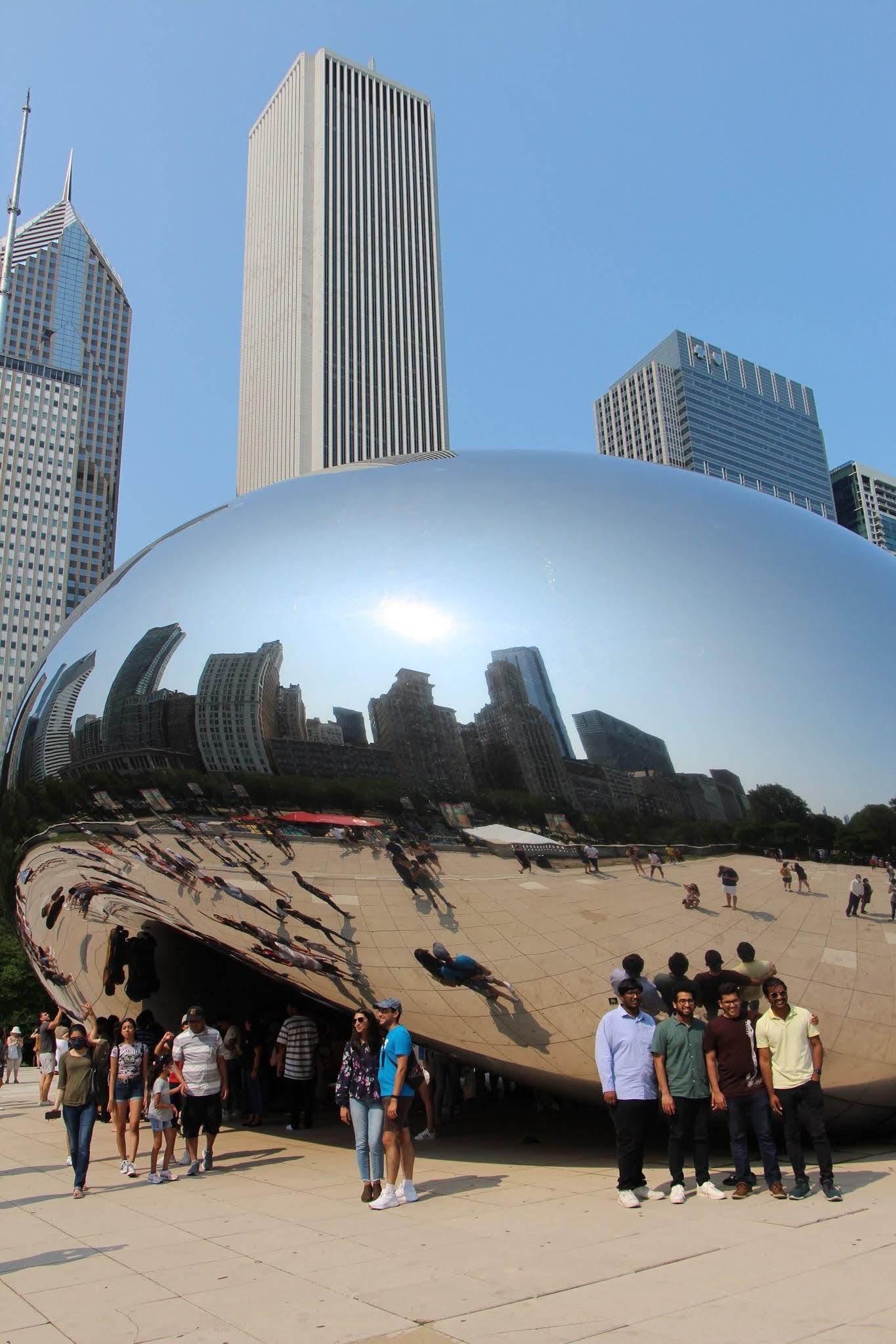 the bean, chicago, millennium park, chicago travel guide