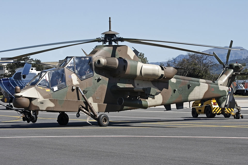 7 Denel AH-2 Rooivalk most powerful military helicopters