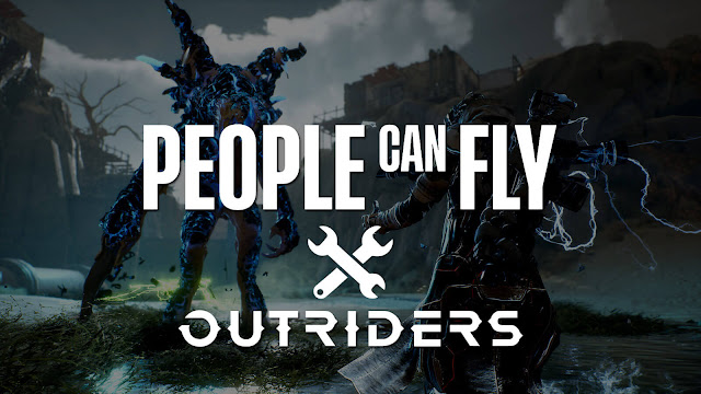 outriders developer studio people can fly promises explain server crash issue square enix  cooperative role-playing third-person shooter game pc steam ps4 ps5 xb1 xsx