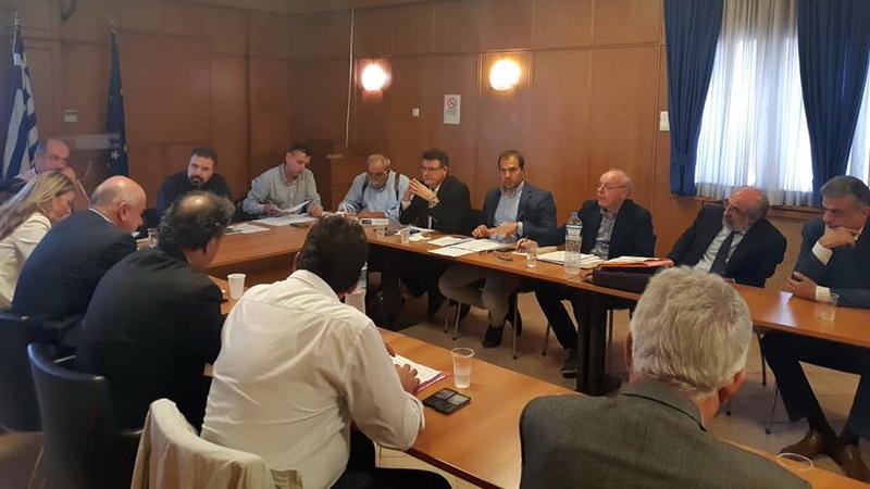 Σύσκεψη θεσμικών φορέων με τον Υπουργό Αγροτικής Ανάπτυξης για τα σοβαρά ζητήματα των αγροτών στον Έβρο