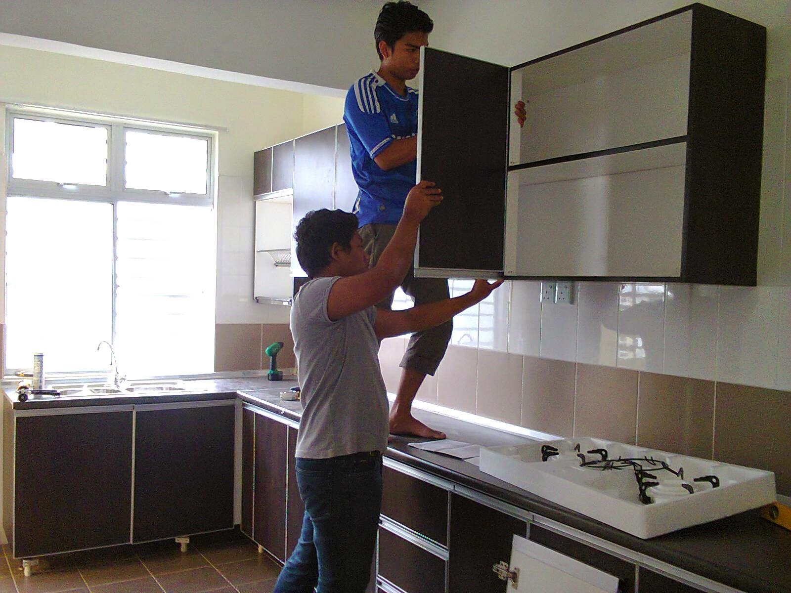 Cara Memasang Kabinet Dapur Desainrumahid