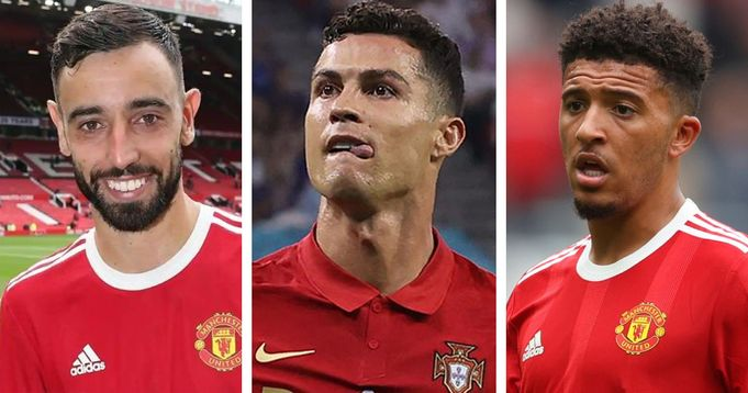 Jadon Sancho top list of Man United most expensive players: Ronaldo out