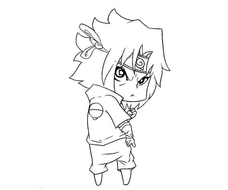 sasuke uchiha coloring pages - photo#27