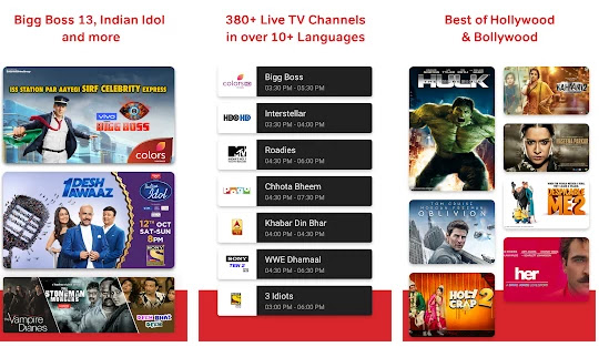 airtel tv for android tv features