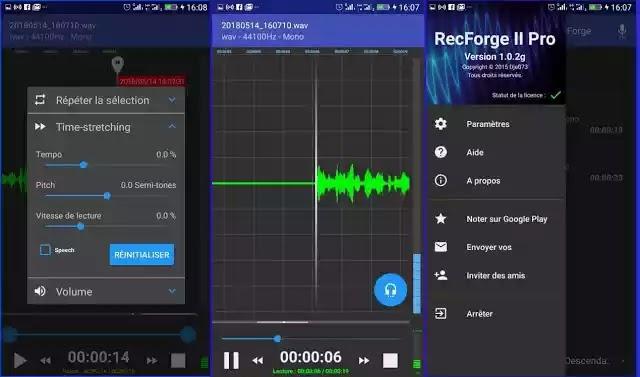 حمل مجانا أفضل التطبيقات المدفوعة لتسجيل الصوت بجودة عالية كالمحترفين ثمنها في جوجل بلاي أكثر من 30 دولار