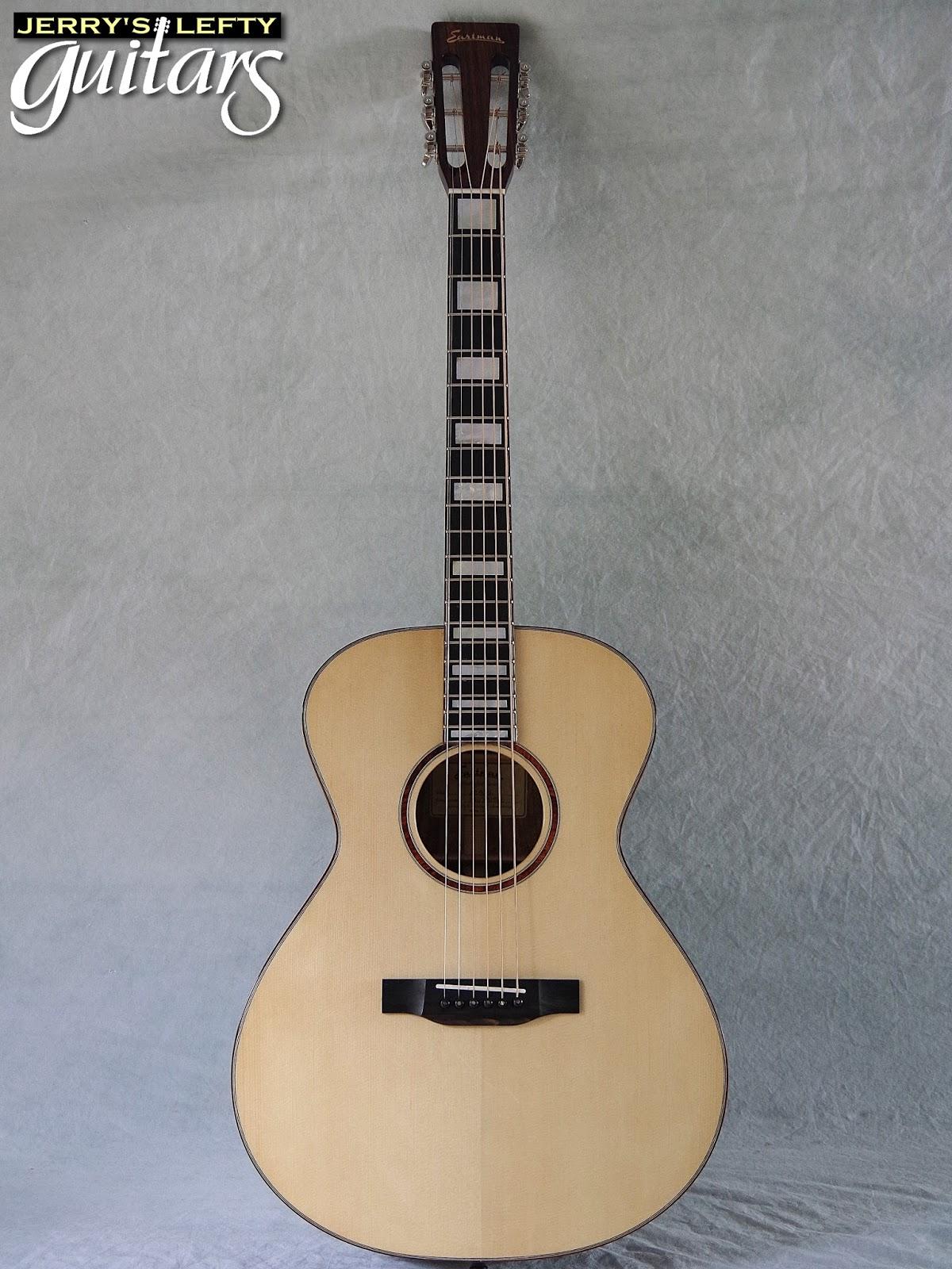 jerry 39 s lefty guitars newest guitar arrivals updated weekly eastman ac508 custom left handed. Black Bedroom Furniture Sets. Home Design Ideas