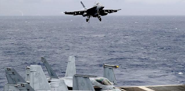 Jelang Latihan Militer AS, China Kerahkan Jet Tempur Dan Kapal Perang Ke Kepulauan Spratly