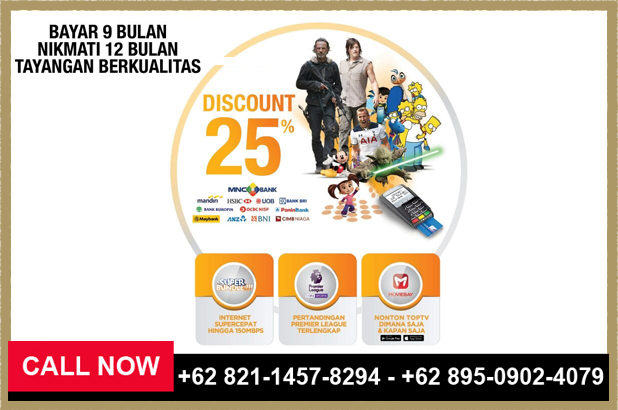 Cara Daftar Paket Top TV Terbaru - 082114578294