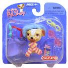Littlest Pet Shop Collectible Pets Jack Russell (#40) Pet