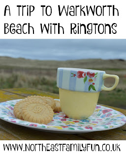 A trip to Warkworth Beach in Northumberland with Ringtons