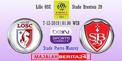 Prediksi Lille vs Brest — 7 Desember 2019