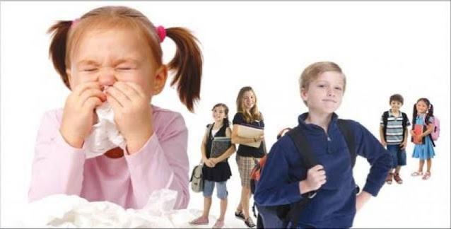 الأمراض المعدية عند الأطفال