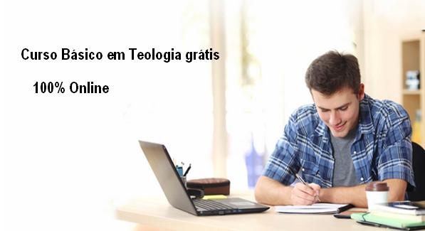 Curso Básico em Teologia grátis 100% Online